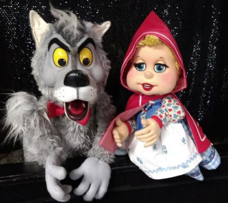 """Puppet Show - """"The Wolf and Little Red"""" @ Puppetry Arts Institute"""