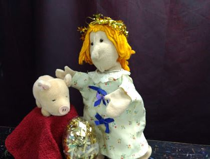 Our January Puppet Show - A Pig, a Princess, and a Wild Woozlebird Egg @ Puppetry Arts Institute